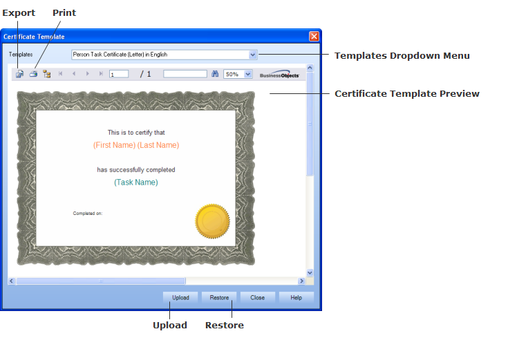 Dialogs certificate template yelopaper Images